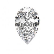 Pear shaped loose diamonds