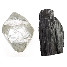 Diamonds vs. Graphite
