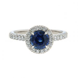 Colored gemstones in engagement rings