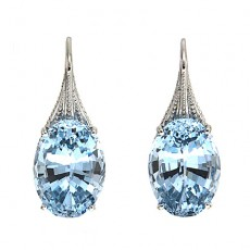 Spinel earrings