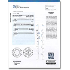 About diamond certification