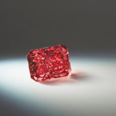 Extremely rare 'Argyle Everglow' Fancy Red diamond could sell for millions