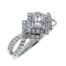 Princess Cuts and Diamond Rings