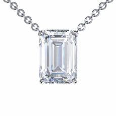 Step cut emerald cut diamond