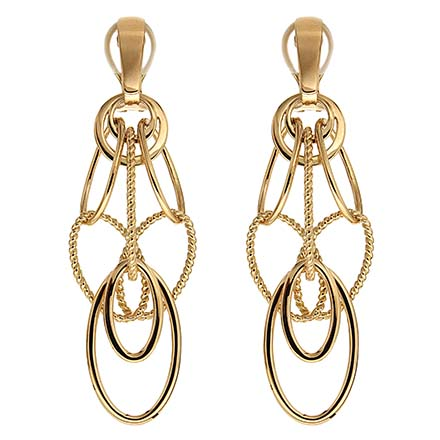 Gold Danglers That Will Leave You Breathless
