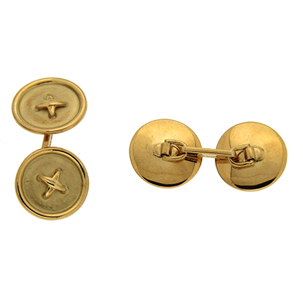 Button Stitch Cufflinks