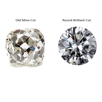 Vintage Diamonds Vs. New Diamonds