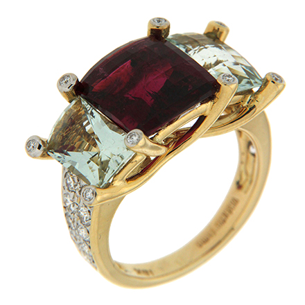 The Popularity of Three-Stone Rings