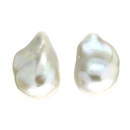 Fresh Water Baroque Pearl Earrings