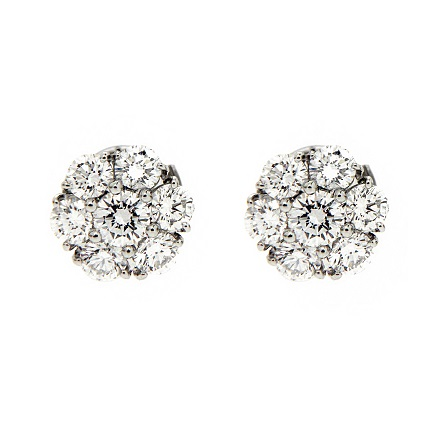 Diamond Studs to Shine on the Bride on Her Big Day