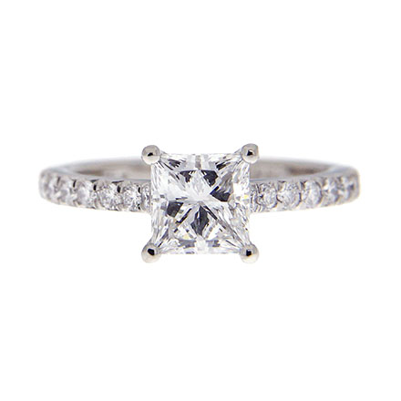 Princess Cut Diamond Rings