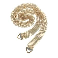 Necktie Mesh Necklace