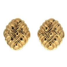 Bundled Up Gold Earrings