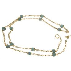 Carina Aquamarine Necklace
