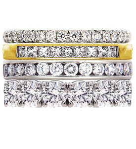 Ring Stacks- The New Obsession of Brides Worldwide