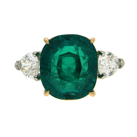 Emerald on Engagement Rings