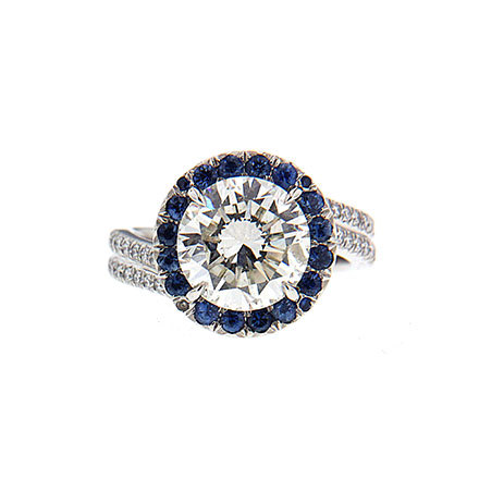 Colored Gems on Engagement Rings