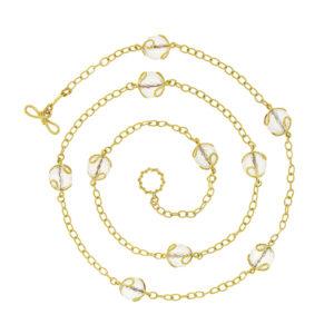 Carina Crystal Necklace