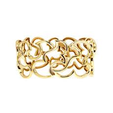 Scroll Gold Bracelet