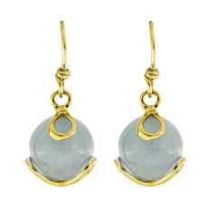 Carina Aquamarine Drop Earrings