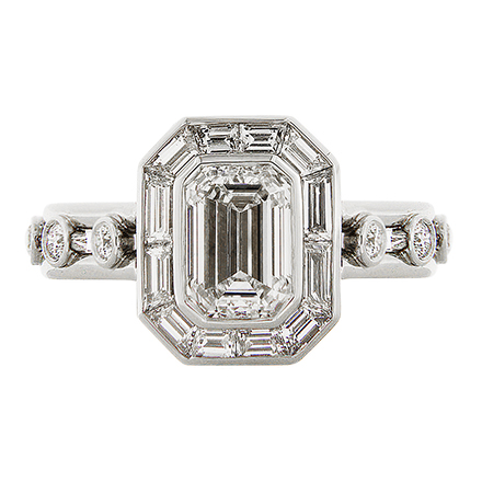 Emerald-Cut Diamonds, for Engagement Rings