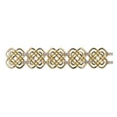 Open Weave Diamond Bracelet