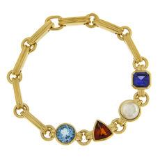 Precious Gemstone Anniversary Bracelet