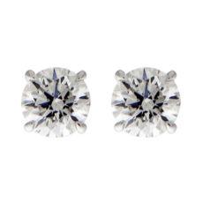 1.4ct Round Diamond Stud Earrings