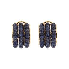 Sapphire Beads Earrings