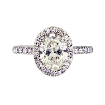 Ideas to Custom-Design an Oval-Cut Diamond Engagement Ring