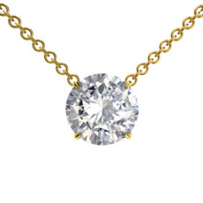 Round Brilliant Diamond Pendant