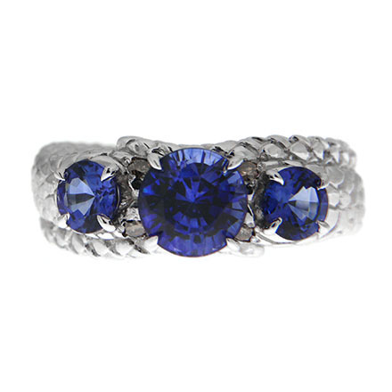 Sapphires for Promise Rings