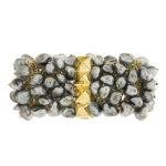Dangling Keshi Pearl Bracelet